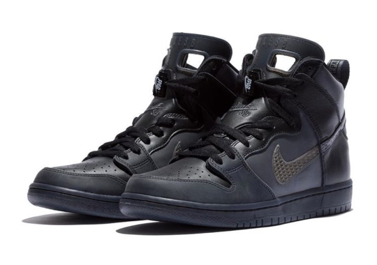 FORTY PERCENT AGAINST RIGHTS Reveals An Insane Nike SB Dunk With Air Jordan Detailing