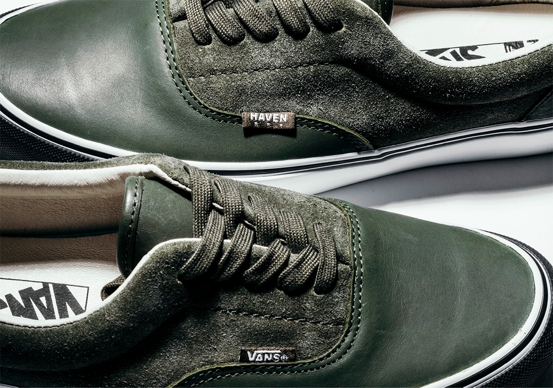 HAVEN Applies Pristine Leather And Suede To Their Vans Vault Collection