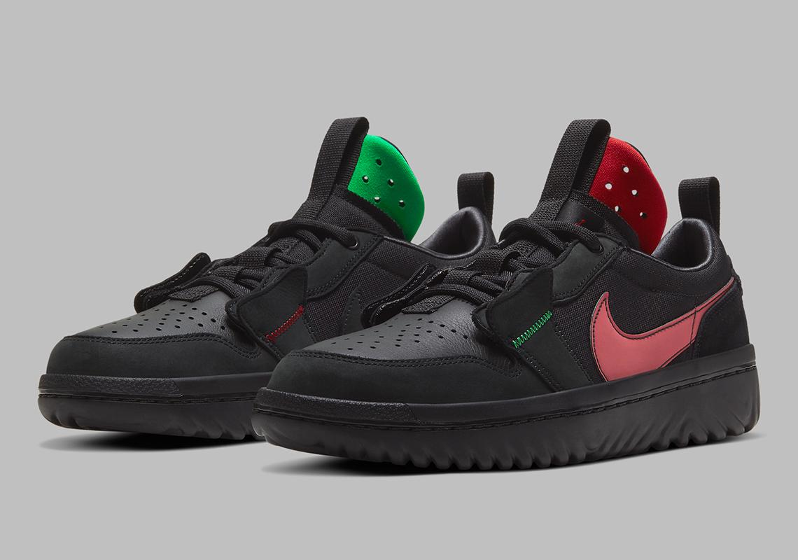 Air Jordan 1 Low React Fearless Ghetto