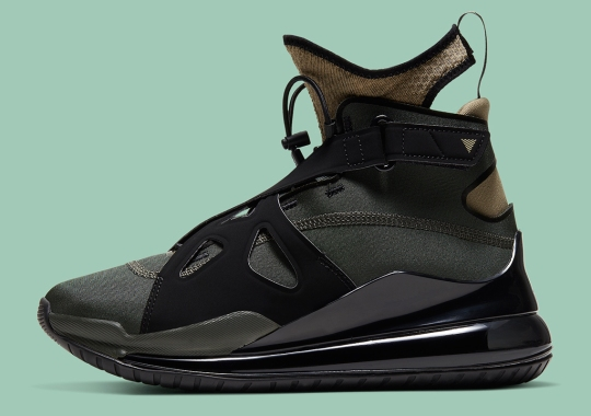 The Jordan Air Latitude 720 Grabs Hold Of Military Color Themes