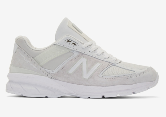 Junya Watanabe Adds An Angelic Touch To The New Balance 990v5