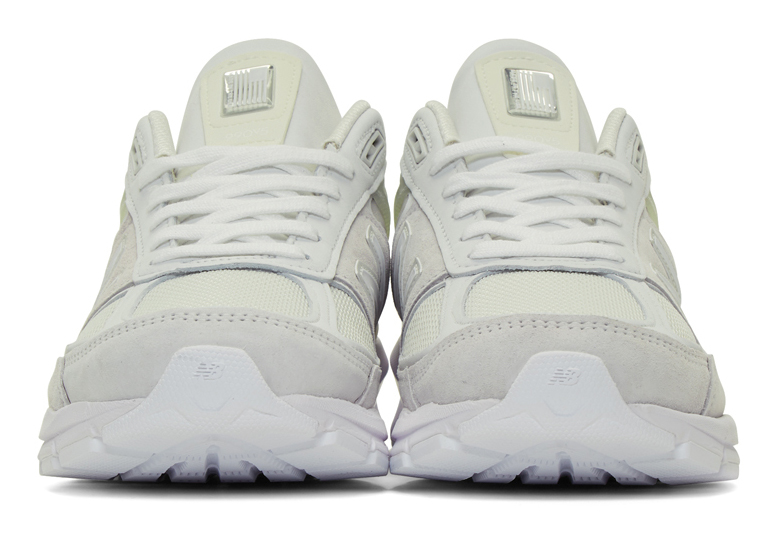 Junya Watanabe New Balance 990v5 White | SneakerNews.com