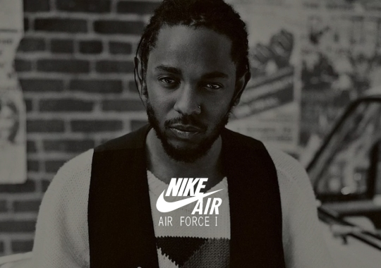 Kendrick Lamar And Nike Rumored To Release Air Force 1 Low In Summer 2020