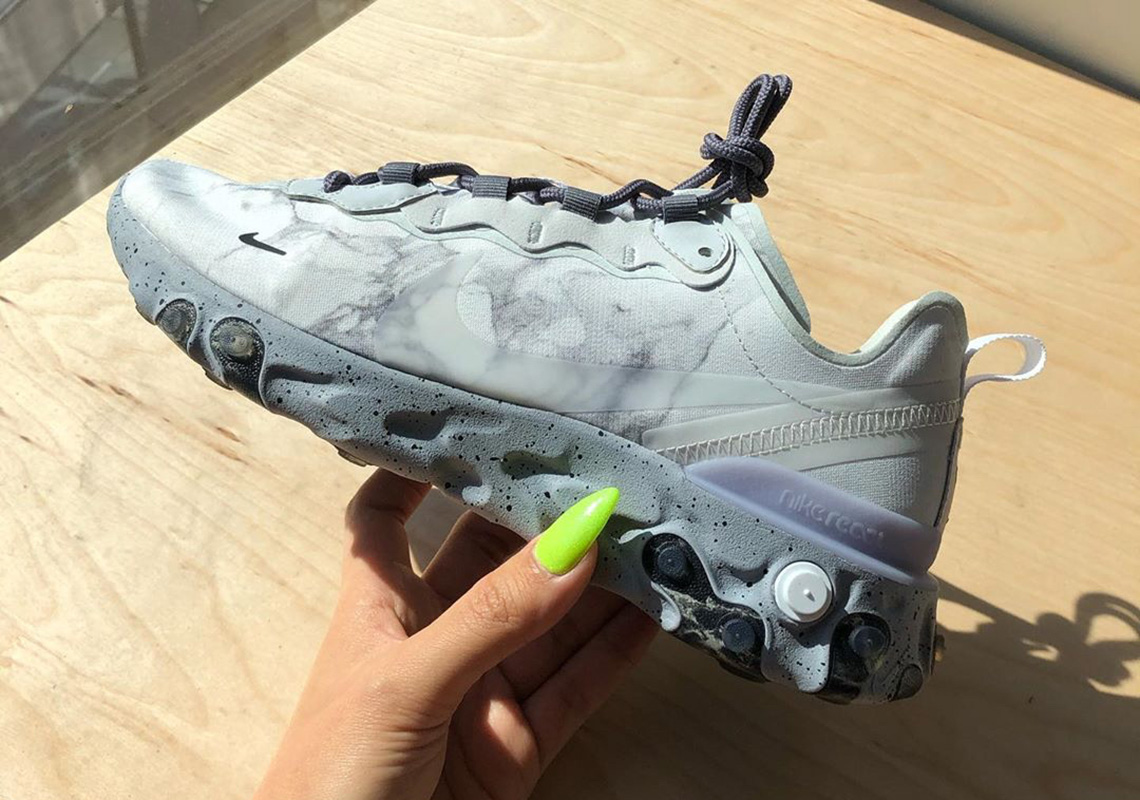 Kendrick Lamar Nike React Element 55 First Look