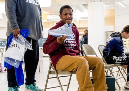 LeBron James Gifts Over 800 Pairs Of Nike LeBrons To Students Of I Promise School
