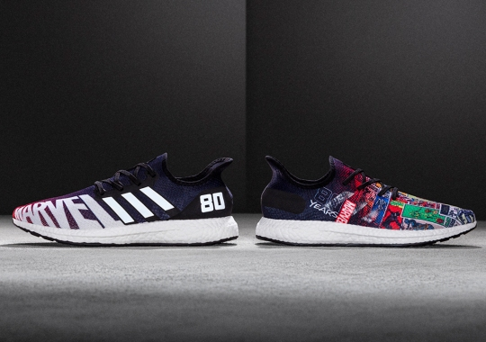 Marvel Celebrates 80th Anniversary With adidas And Foot Locker For Exclusive NYCC Release