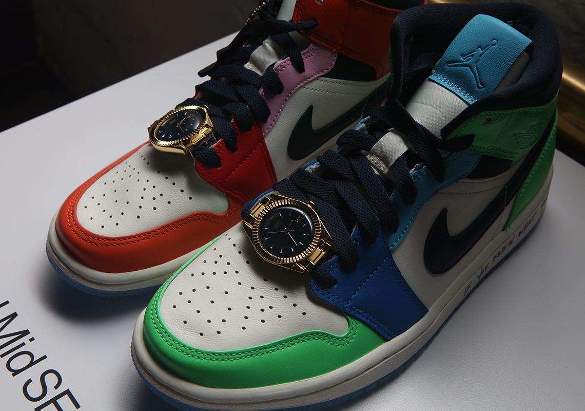 Melody Ehsani Air Jordan 1 Mid Multi Release Info | SneakerNews.com