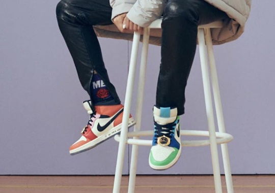 Melody Ehsani Makes Full Use Of Color With Her Air Jordan 1 Collaboration