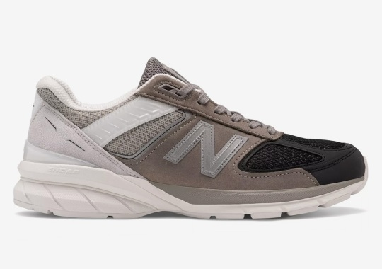 The New Balance 990v5 Goes Tri-color In Greyscale