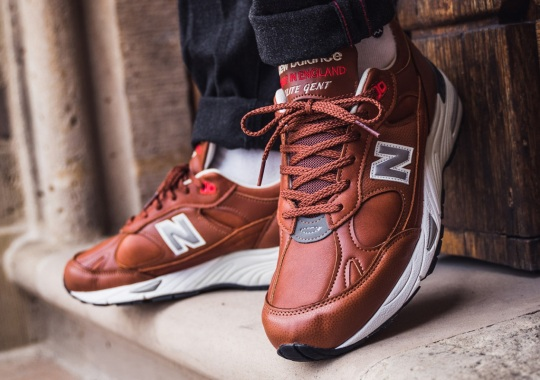 "New Balance's ""Elite Gent"" Pack Focuses On Elevated Materials And Craftsmanship"