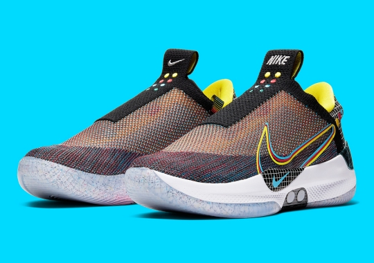 "The Nike Adapt BB Revealed In ""Multicolor"" Leading Up To New NBA Season"
