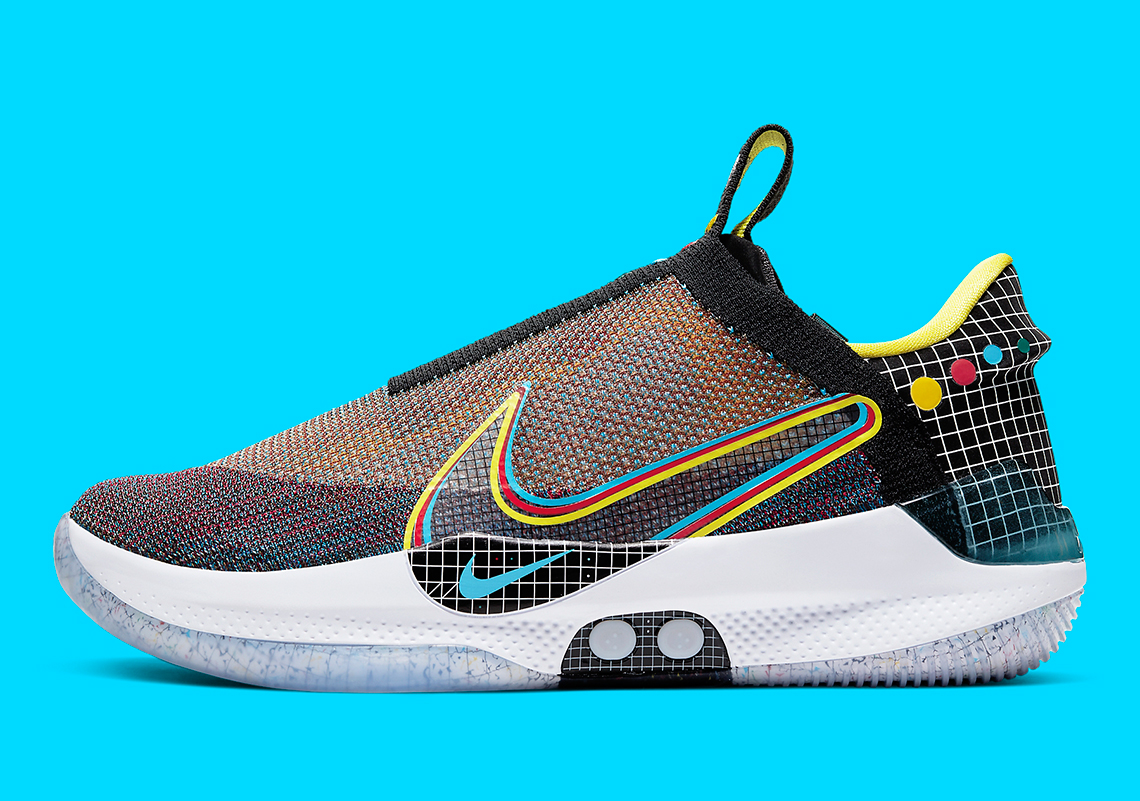 "Nike Adapt BB Returns In Vibrant ""Multicolor"" Model: Official Photos"