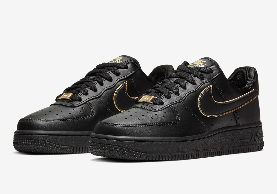 Nike Air Force 1 Low Gold Swoosh , Release Info