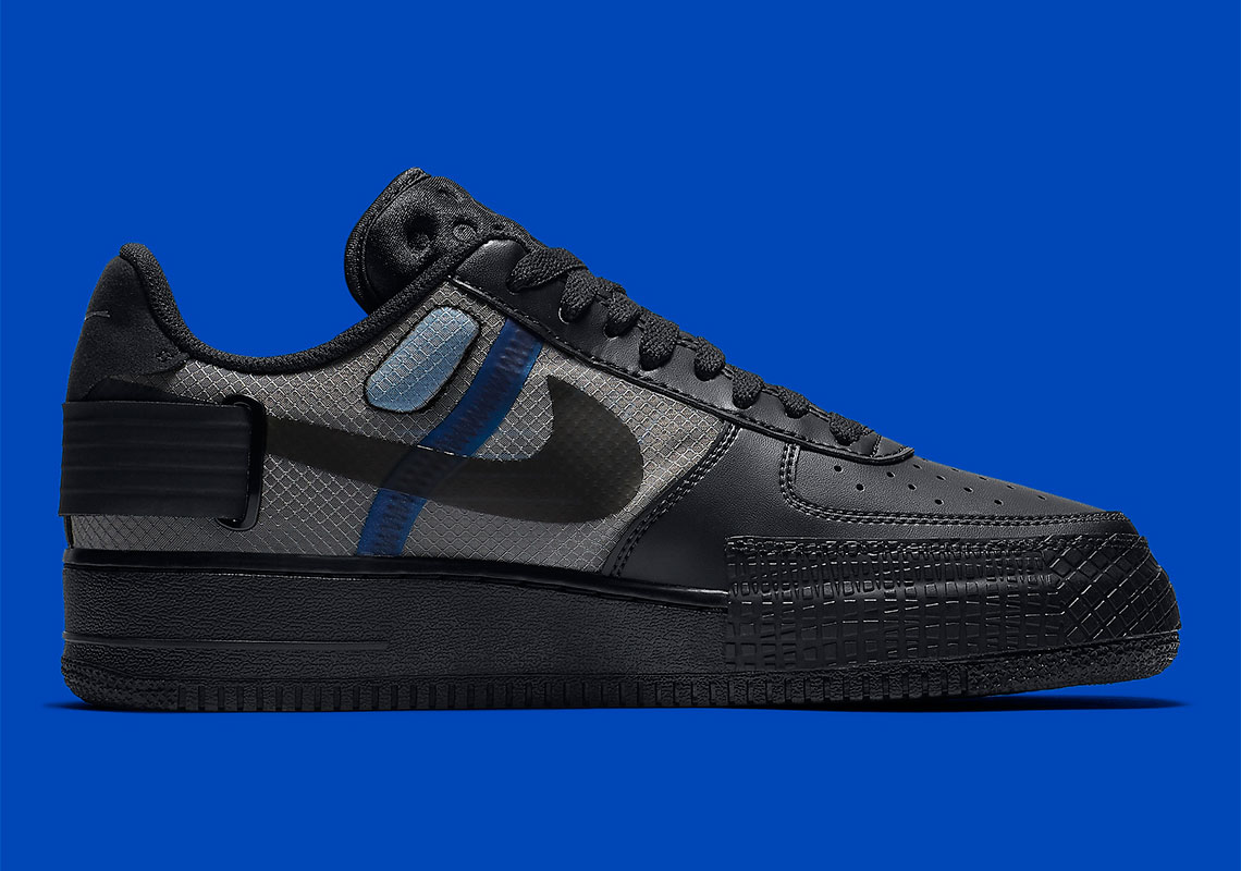Coming Soon: Nike Air Force 1 Low Type Black Photo Blue