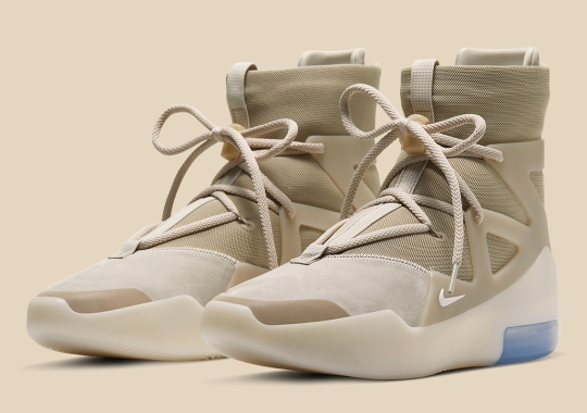 """Official Images Of The Nike Air Fear Of God 1 """"Oatmeal"""""""