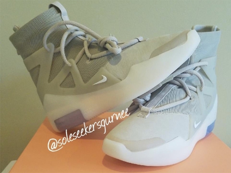 "Nike Air Fear Of God 1 ""Oatmeal"" In-Hand Photos Revealed: Release Info"