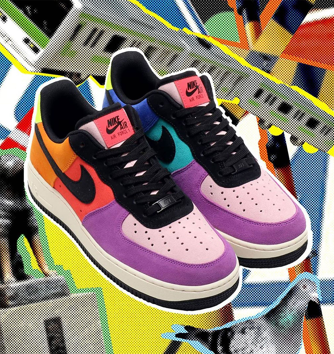 Nike Pop The Street Air Force 1 Air Barrage Release Date