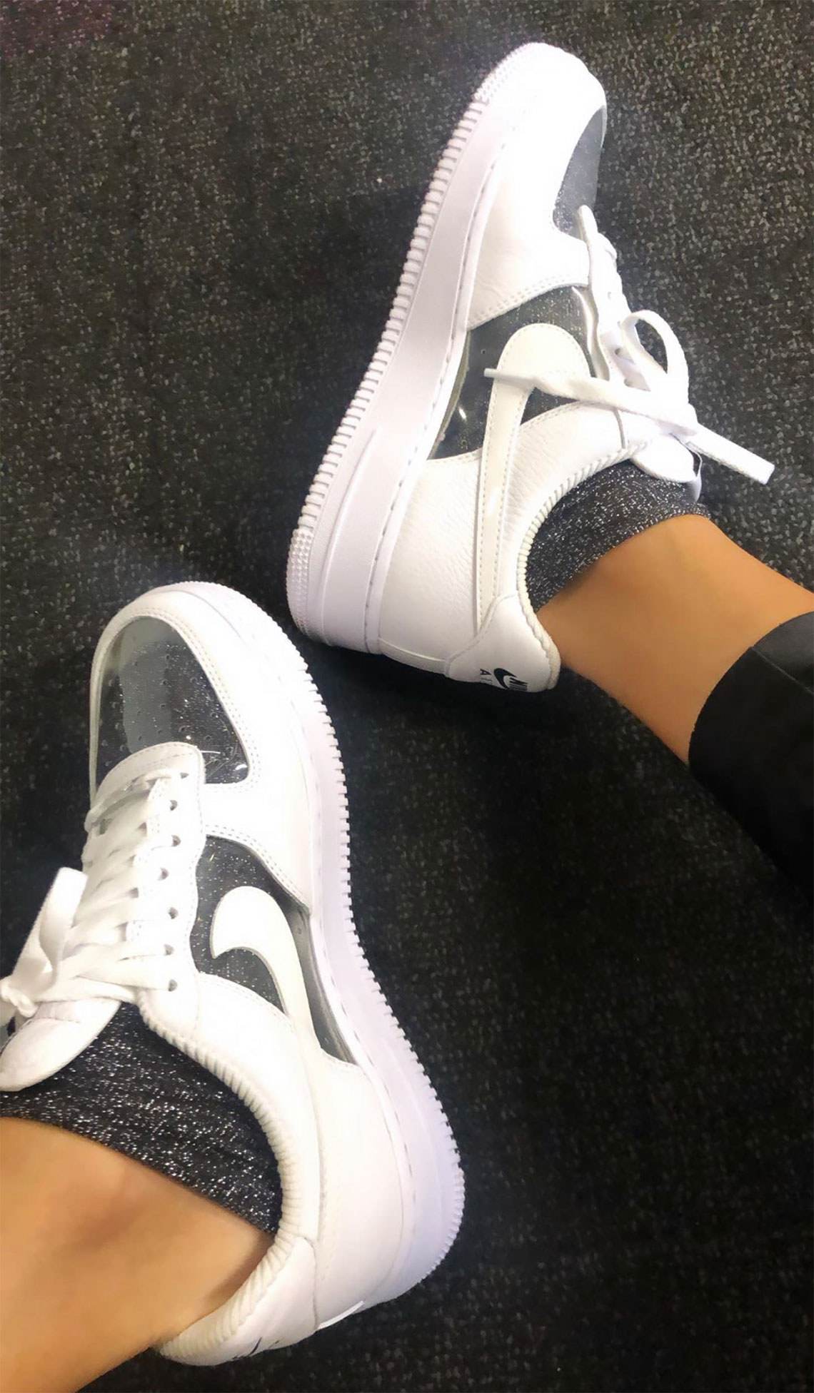 nike air force velluto