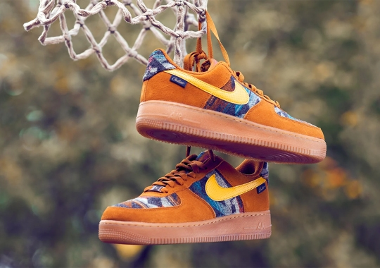 The Nike Air Force 1 N7 With Pendleton Wool Uppers Is Available Now