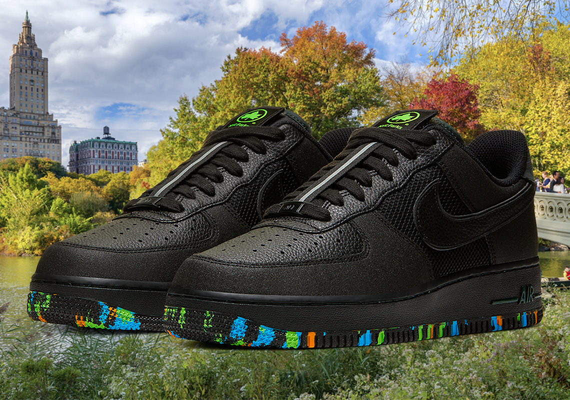 Nike Air Force 1 NYC Parks CT1518-001 Release Info | SneakerNews.com