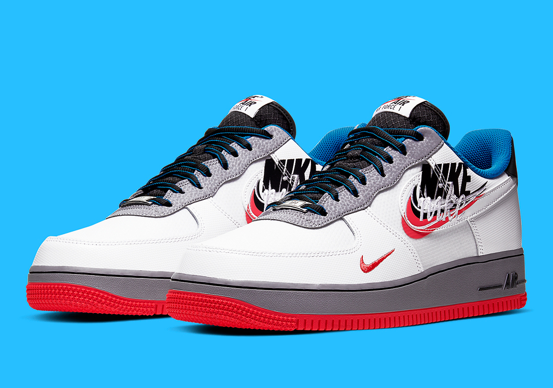 Nike Air Force 1 Script Swoosh CT1620-100 | SneakerNews.com