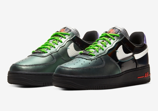 "Is This Nike Air Force 1 ""Vandalized"" Inspired By The Joker?"