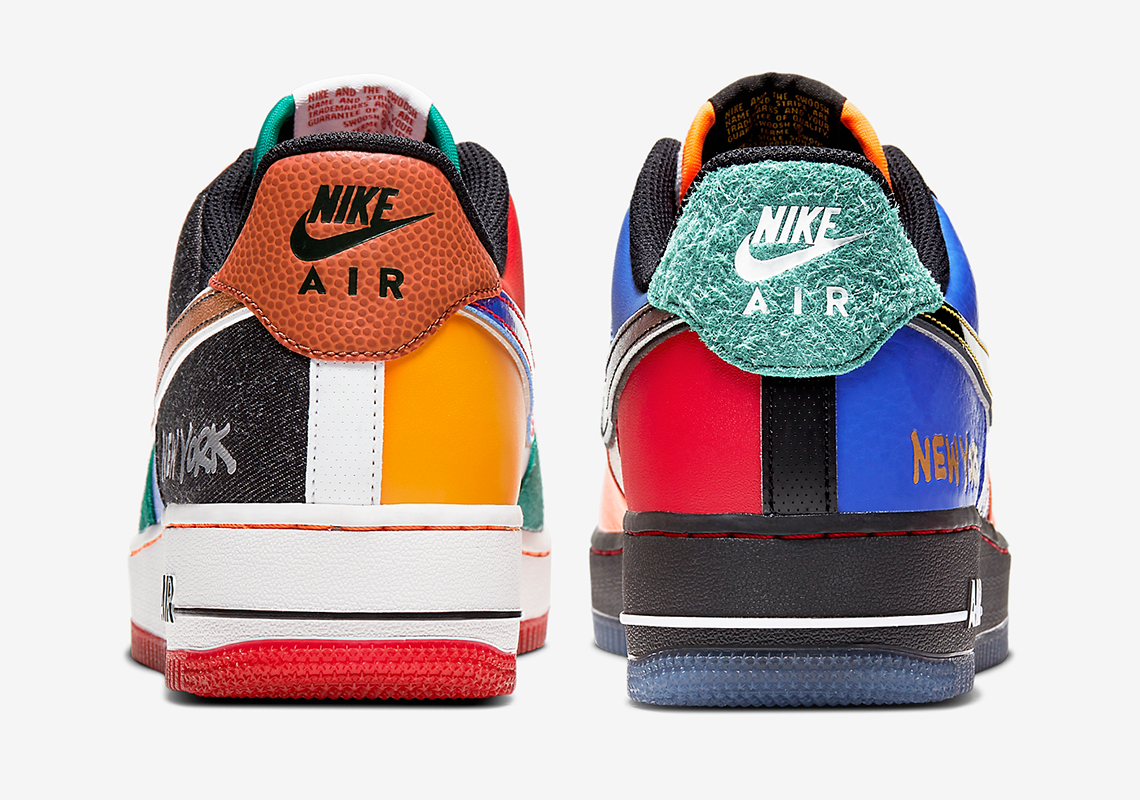 "Nike Air Force 1 Low ""What The NY"" Release Date Revealed: Official Photos"