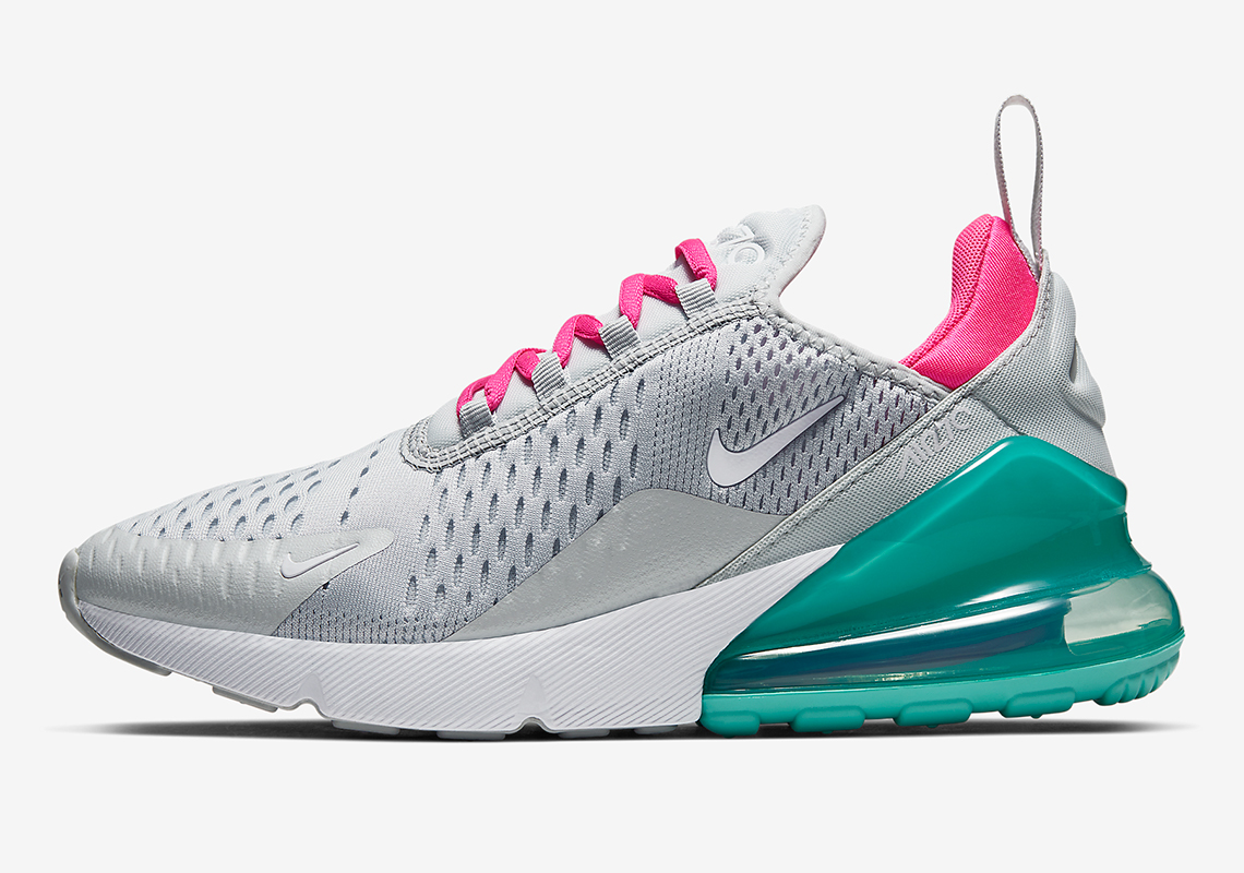 "The Attractive ""South Beach"" Theme Emerges Once More On The Nike Air Max 270"