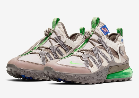 The Nike Air Max 270 Bowfin Adds Electric Green Against Rocky Colorways