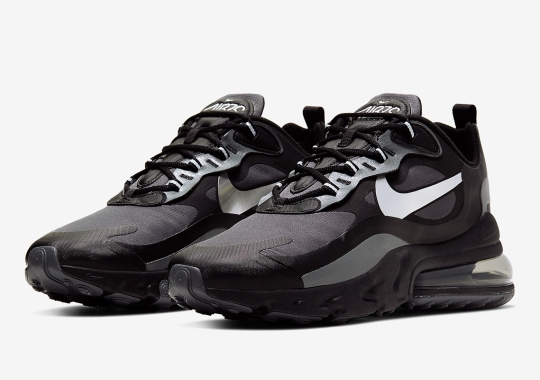 Nike Armors The Air Max 270 React With Waterproof Exteriors