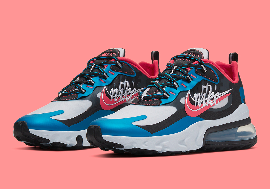 nike air max 270 react nere