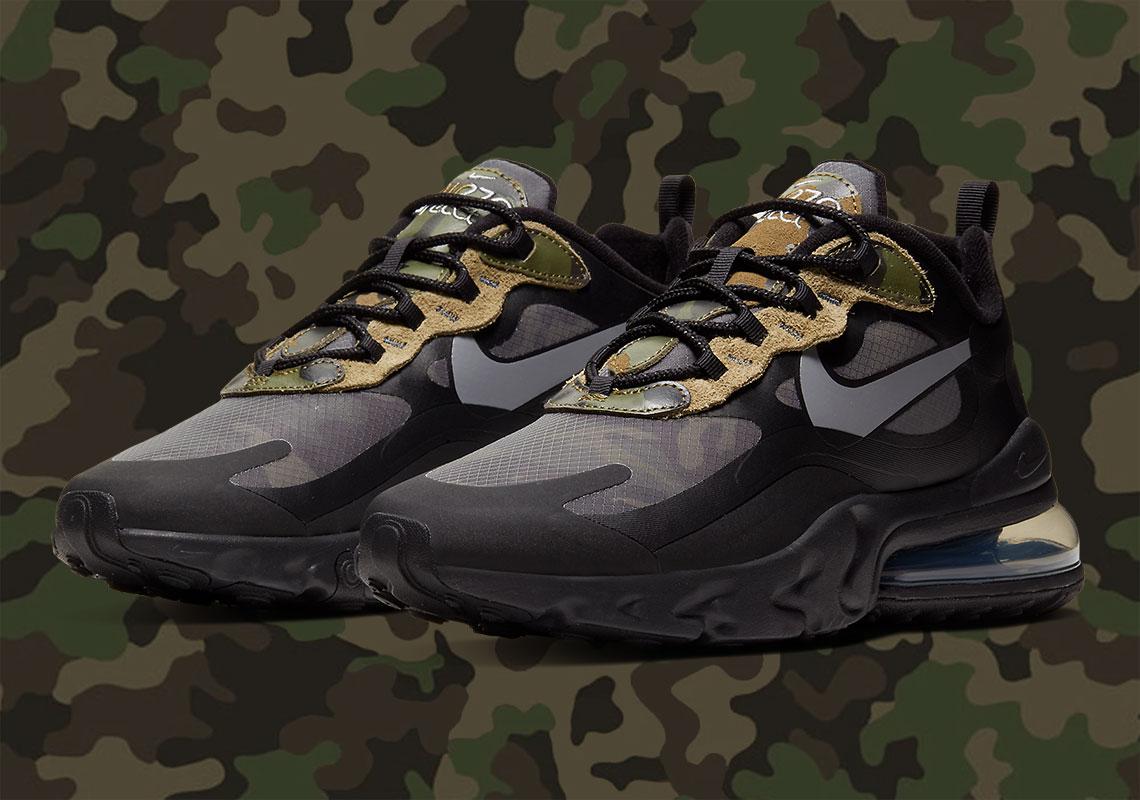 Nike Air Max 270 React Camo CT5528 001  