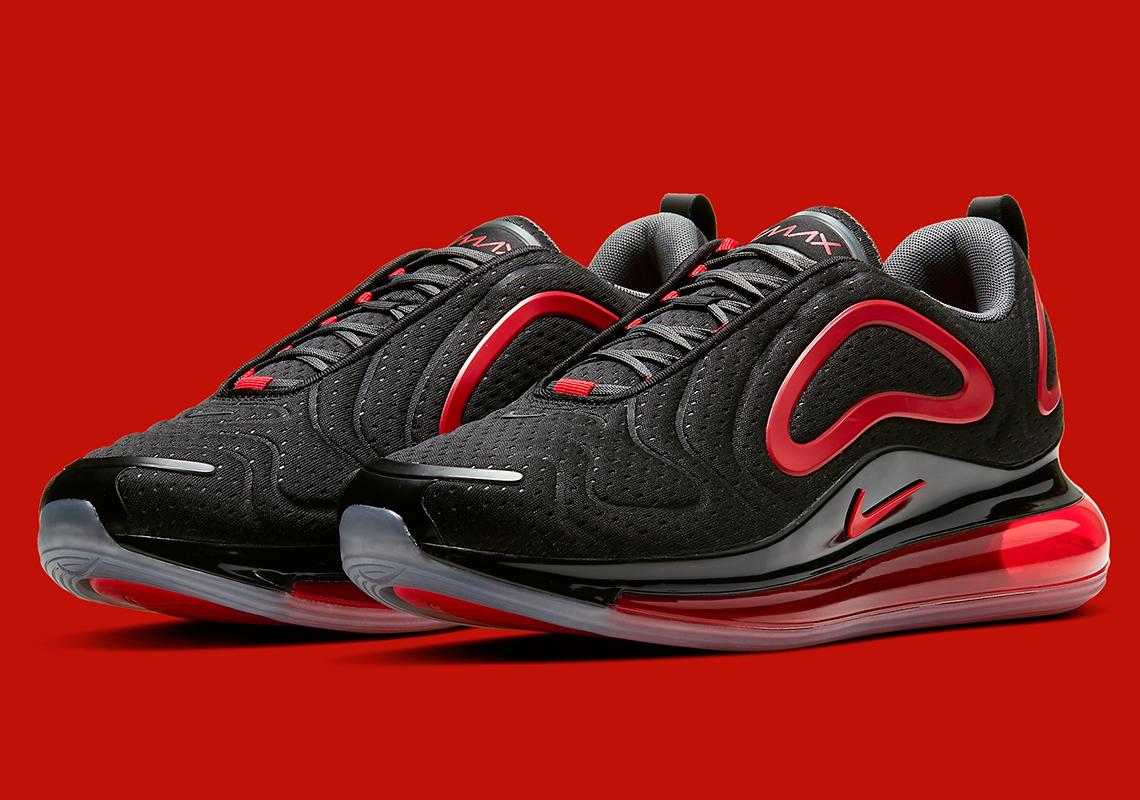 Nike Air Max 720 Black Red CN9833 001 |