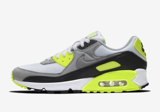 Nike Is Reviving The Original Air Max 90 Shape For Upcoming 30th Anniversary