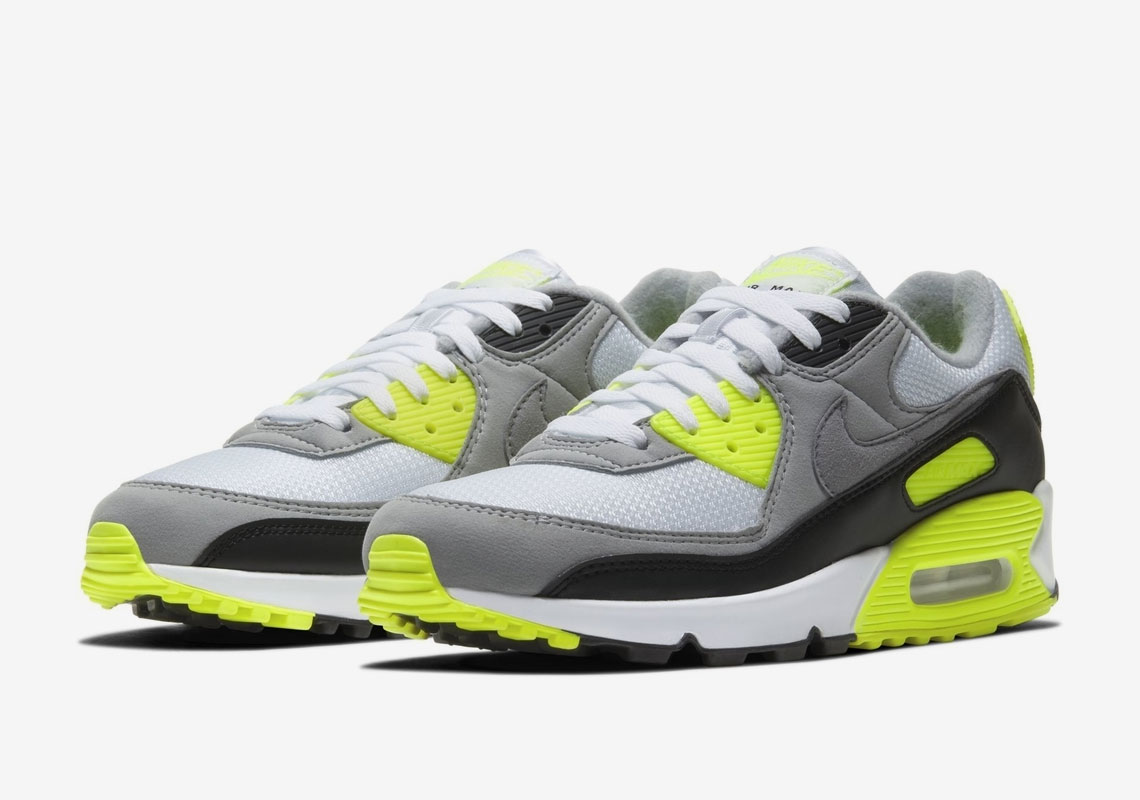 Nike Air Max 90 Grey Volt CD0881 103 |