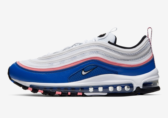 "The Nike Air Max 97 Appears In An ""Ultramarine"" Mock-up"