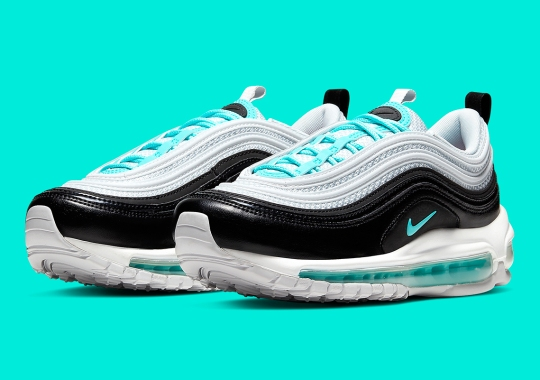 "Nike's Adds A Precious ""Diamond"" Colorway To The Air Max 97"