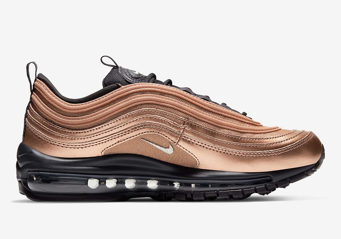 "Nike Air Max 97 ""Bronze"" Officially Unveiled: Detailed Photos & Release Info"