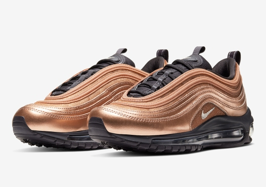 Nike Adds Bronze Finishes To The Air Max 97