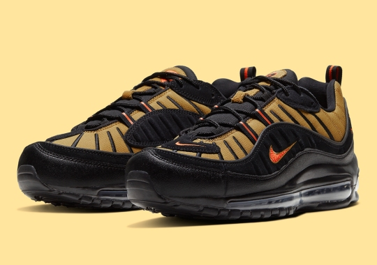 A Nike Air Max 98 Fit For The Season Arrives In Stores