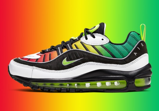 Olivia Kim's Nike Air Max 98 References Jamaican Dancehall Culture