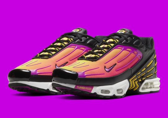 "Official Images Of The Nike Air Max Plus 3 ""Hyper Purple"""