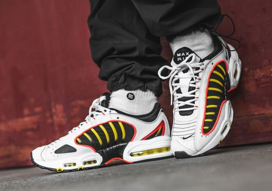 The Nike Air Max Tailwind IV Returns With Strong Red And Yellow Accents