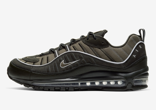 Nike Releases An Air Max 98 Dressed In Sequoia and Olive