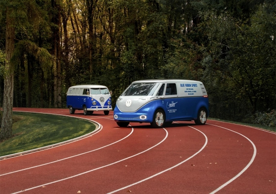 Nike To Hit Select Cities With An Updated Blue Ribbon Sports Volkswagen Bus