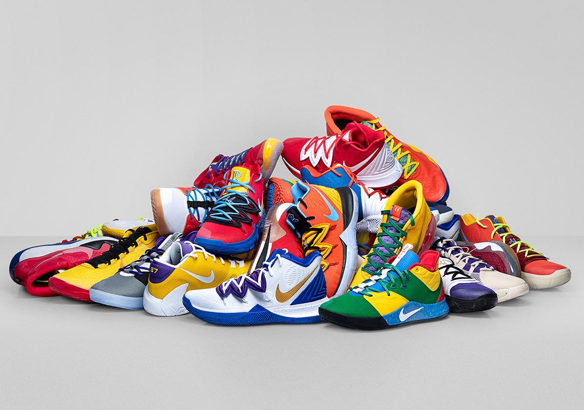 Nike By You Kyrie 5 Freak 1 PG 3 KD 12