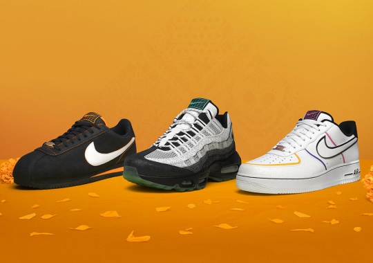 Nike's Day Of The Dead Pack For 2019 Arrives On October 25th