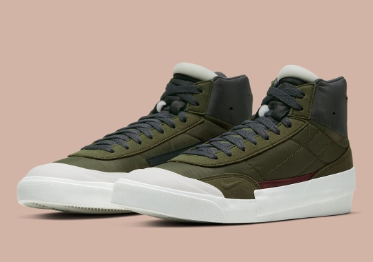Nike's Drop Type LX Mid Arrives In Olive Green