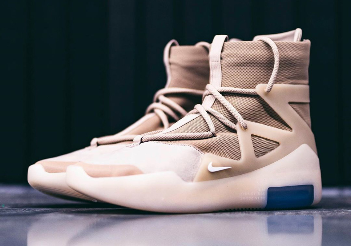 Nike Air Fear of God 1 Oatmeal AR4237-900 Release Date | SneakerNews.com
