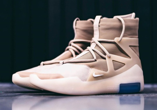 """Nike Air Fear Of God 1 Returns In Upcoming """"Oatmeal"""" Colorway"""